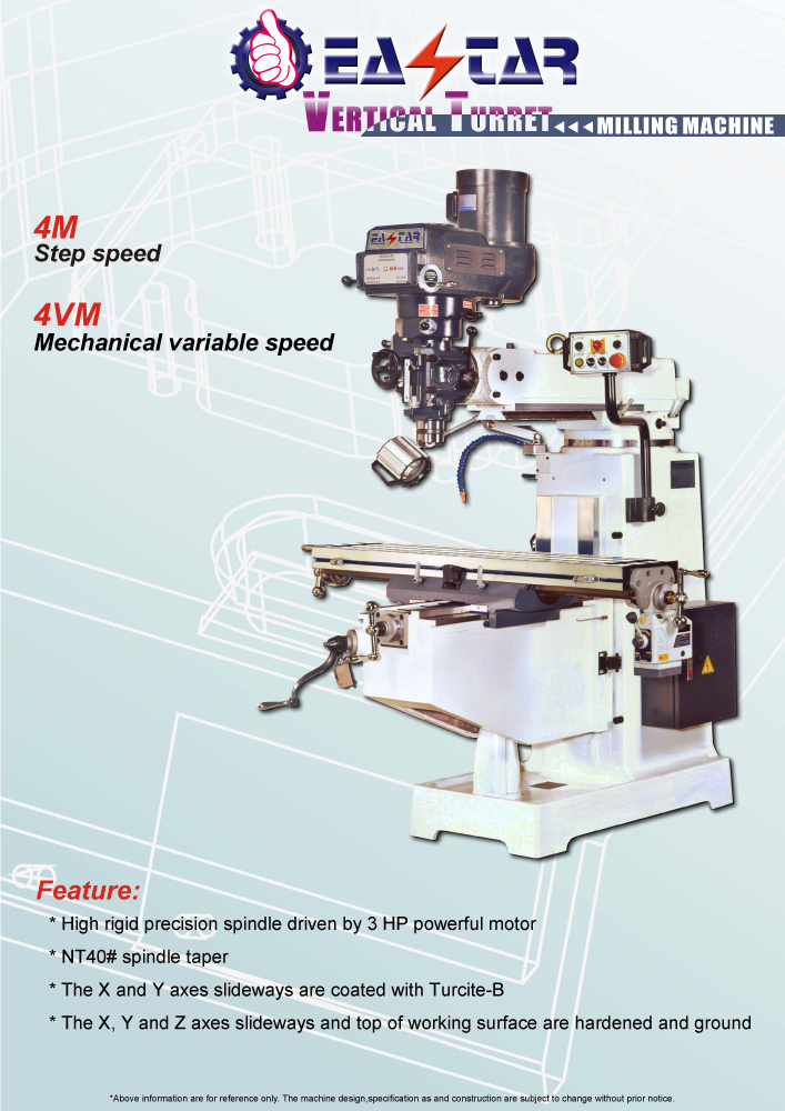 METAL CUTTING MACHINE TOOLS >MILLING MACHINE > 2-Knee Type